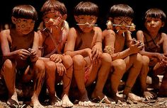 Pix For > South American Rainforest Tribes