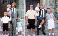 Three Brothers Recreate Their Weirdest Childhood Photos As A Gift For Their Mom | Bored Panda