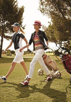 Ladies Golfing......