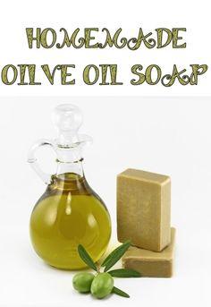 HOMEMADE OILVE OIL SOAP