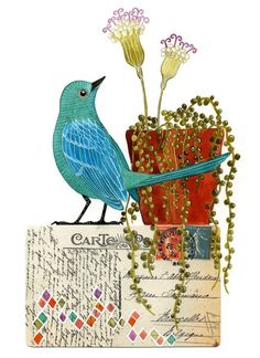 Love Geninne's artwork... really darling and lovely!