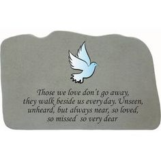 Love Garden, Lawn And Garden, Cemetary Decorations, Goodbyes Are Not Forever, Cemetery Vases, Concrete Materials, Garden Plaques, Garden Stepping Stones, Evergreen Flags