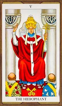 What The Hierophant tarot card reveal? Know its in depth meaning in tarot card reading courses by renowned tarot card reader in India.