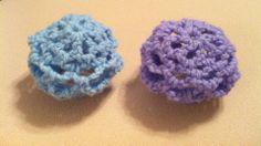 Hair bun covers #crochet