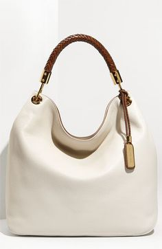 Michael Kors Skorpios - Large Leather Hobo available at #Nordstrom like it newest.