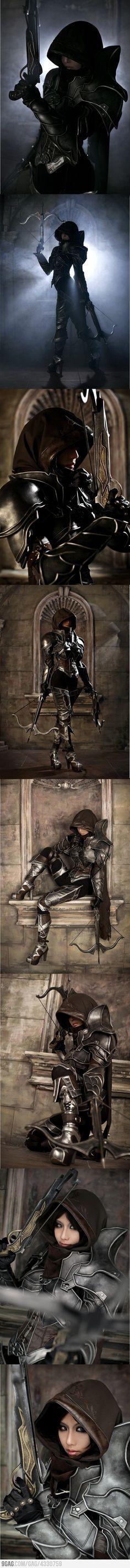 Sexiest demon hunter cosplay evarrrr. *_*