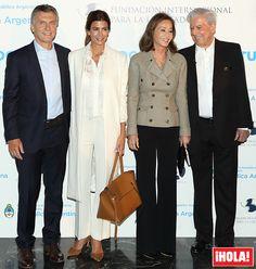 Isabel Preysler, Mario Vargas Llosa, Mauricio Macri, Juliana Awada