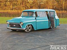 1957 Chevrolet Suburban - Thunder Wagon!