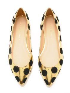 Quinnie Pointed Toe Flat by Loeffler Randall