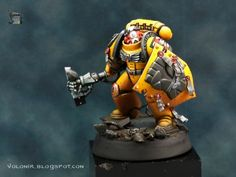 Painting Imperial Fists Space Marines