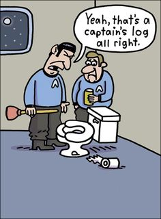 Even on the USS Enterprise, everyone is equal in this chair!