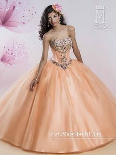 Mary's Bridal Princess Collection Quinceanera Dress Style 4Q420