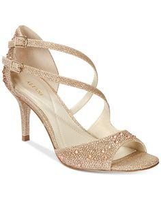 Alfani Women's Cremena Asymmetrical Evening Sandals, Only at Macy's | macys.com