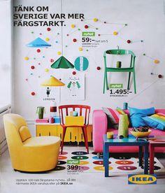 Ikea catalog.