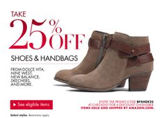 b88c69667eb Amazon Black Friday Deals     25% Off Shoes   Bags From Dolce Vita