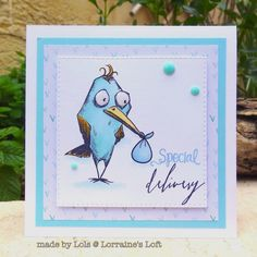 Tim Holtz Cling Rubber Stamps 2015 BIRD CRAZY cms212 at Simon Says STAMP!