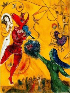 Marc Chagall, The Dance