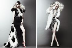 High Fashion Cruella - Halloween Inspiration