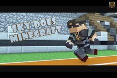 Minecraft person number 2: Skydoesminecraft his laugh is pretty contagious and is an expert at making pig noises! He is the king of a Budder and he is the leader of the Sky Army.