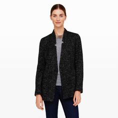 Melvin Tweed Blazer - Jackets and Vests Women at Club Monaco