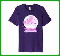 Mens Unicorn Goddaughter Shirt XL Purple - Fantasy sci fi shirts (*Amazon Partner-Link)