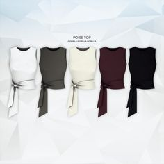 Poise Top for The Sims 4