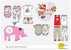 Childrenswear by Letitia Buchan, via Behance