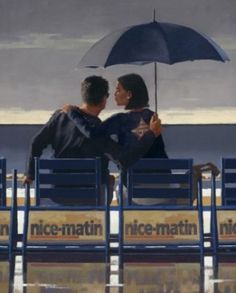Signed Limited Edition Print Blue Blue by the artist Jack Vettriano Jack Vettriano, Print Artist, Artist Painting, The Singing Butler, Pulp Fiction, Limited Edition Prints, Cool Artwork, Lovers Art, Screen Printing