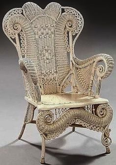 Image Detail For  Wicker_vintage_ornate_chair_gums | Come And Sit Awhile |  Pinterest | Wicker Chairs And Peacocks
