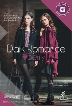 Dark Romance Berry. A hot trend this season