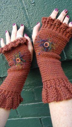 knitting pattern fingerless gloves fingerless by infinitythreads, $4.50