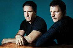 BROTHERS GRIM | 'It's been an uncompromising, fantastic creative process,' says Reznor (left) of scoring...