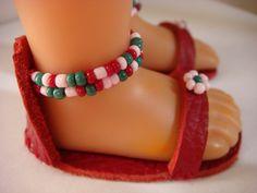 Les sandales rouges