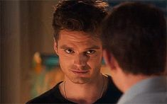 He knew he was getting to him. His face was a picture of pure satisfaction. An evil smirk planted on his face.
