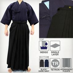Max Dry Sweat-Less Kendo Gi & DX Tetron Hakama Set Kendo, Martial Arts Supplies, Layers, Layering