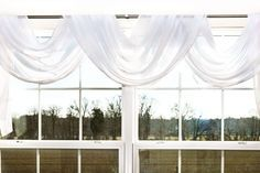 One of the easiest styles of valance is the scarf valance. Used to drape along the top edge of a window, a scarf valance can add texture to your room without blocking out any light or views. Whether you use the scarf valance independently, or paired with coordinating curtains, the scarf valance is quick to go up and looks beautiful. Use it to add...