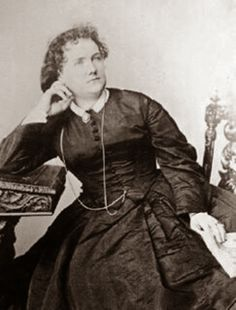 Mary Elizabeth Braddon a Victorian author. She wrote the popular Lady Audleys Secret and other sensational novels.
