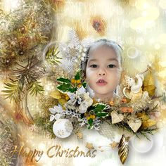 *A Happy Christmas* by MLDesign  http://digital-crea.fr/shop/index.php…