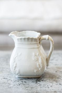 Antique Ironstone Creamer 2