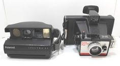 Polaroid Cameras Lot Of 2 For Parts or Repair Untested Polaroid Cameras, Vintage Items, Store, Bags, Handbags, Polaroid Camera, Storage, Totes, Hand Bags