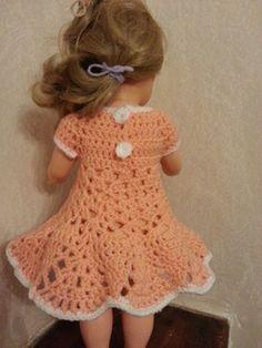 Tuto robe au crochet pour poupée Marie Françoise Girl Dolls, Creations, Crochet Hats, Patron Crochet, Fashion, Crochet Doll Clothes, Crochet Dolls, Knitting Hats, Moda