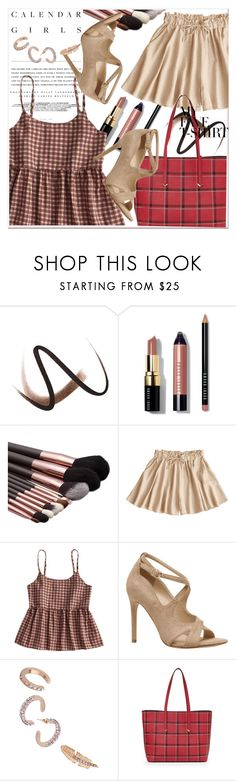 """Dress Up a T-Shirt"" by amalyalana ❤ liked on Polyvore featuring Burberry, Kerr®, Bobbi Brown Cosmetics and Botkier"