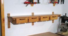 Shelf with drawers