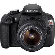 Canon EOS Rebel T5 Digital SLR Camera Kit with EF-S 18-55mm IS II Lens ($399) ❤ liked on Polyvore featuring fillers, electronics, camera, other and tech