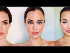 Angelina Jolie Inspired Makeup Tutorial | Genelle - YouTube