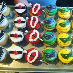 Mardi Gras cupcakes @cateringworks