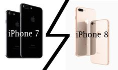 Apple's iPhone 7 and iPhone 8 Comparison - Apple iOS Mobiles - MYPROJECTDEALS Iphone 7 Pro, Buy Iphone, Ponytail Hairstyles Tutorial, Latest Ios, Iphone Price, Apple Model, Ios 11, Stereo Speakers, Display Screen