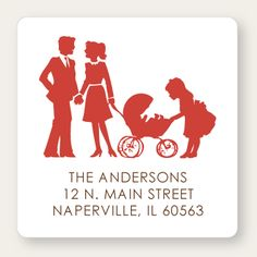 Return Address Labels | Silhouette Family