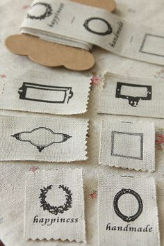 Fabric label tags