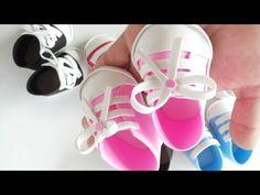 Mini Tênis infantil em EVA passo a passo Baby Shower - YouTube